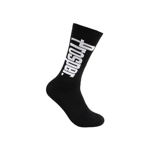 PROSPER CREW 3 SOCKS (BLACK/WHITE)