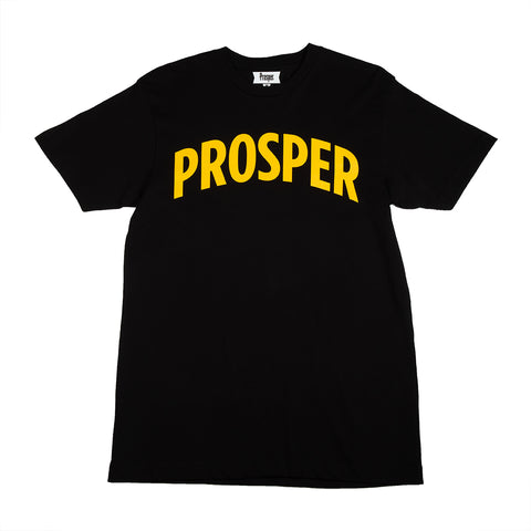 NECESSARY 2 S/S TEE (BLACK/GOLD)
