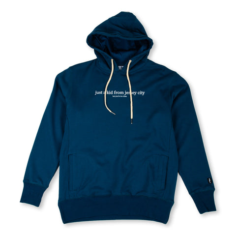 JUST A KID 2 HOODY (SLATE BLUE)