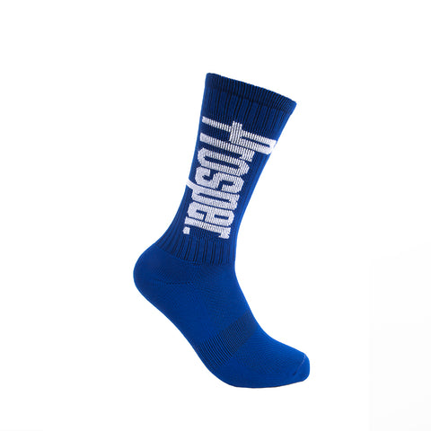 PROSPER CREW 3 SOCKS (ROYAL/WHITE)