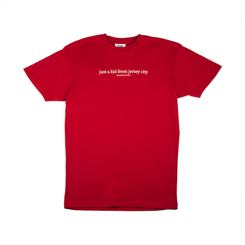 JUST A KID 3 S/S TEE (CARDINAL RED)