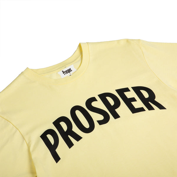 NECESSARY 2 S/S TEE (CHARTREUSE/BLACK)