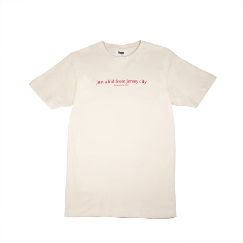 JUST A KID 3 S/S TEE (CREAM)
