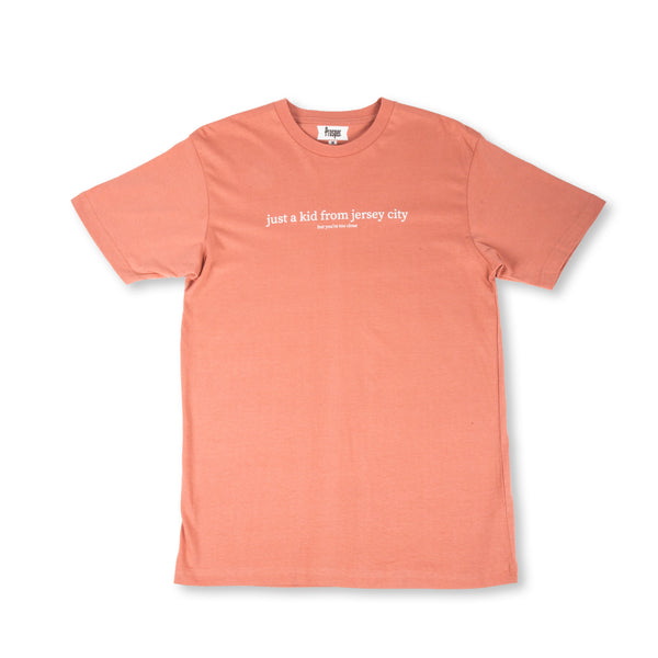 JUST A KID 2 S/S TEE (DUSTY ROSE)