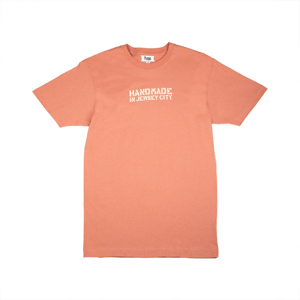 HANDMADE 2 S/S TEE (DUSTY ROSE)