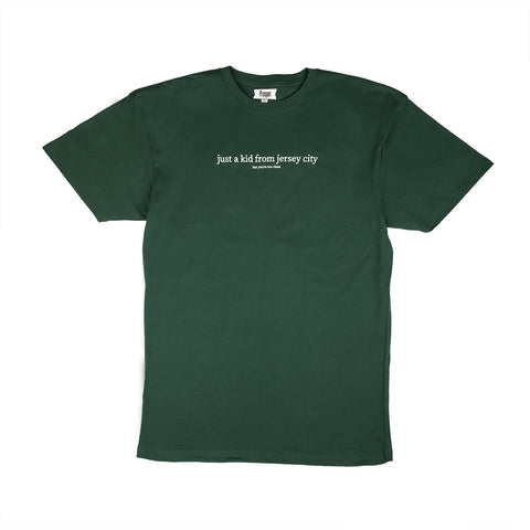JUST A KID 3 S/S TEE (FOREST GREEN)