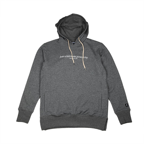 JUST A KID 3 HOODY (HEATHER CHARCOAL)