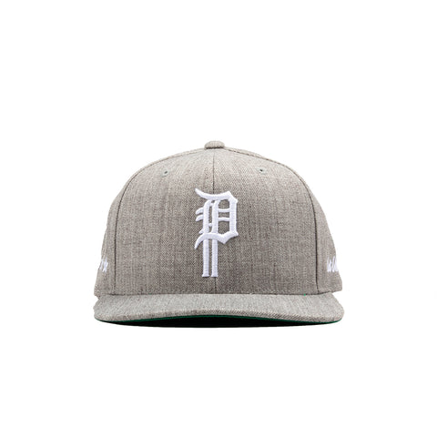 BULLIES SNAPBACK HAT (HEATHER GREY)