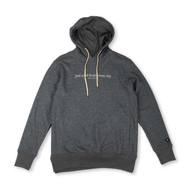 JUST A KID 2 HOODY (HEATHER CHARCOAL)