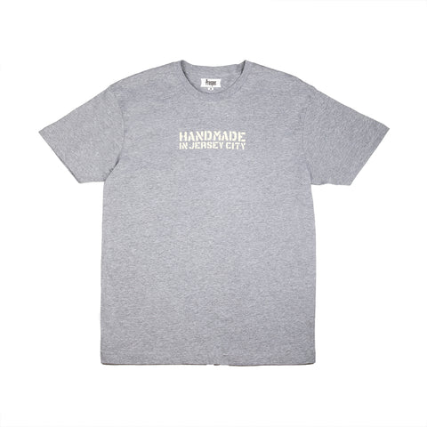 HANDMADE 2 S/S TEE (HEATHER GREY)