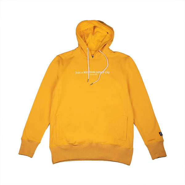 JUST A KID 3 HOODY (OLD GOLD)
