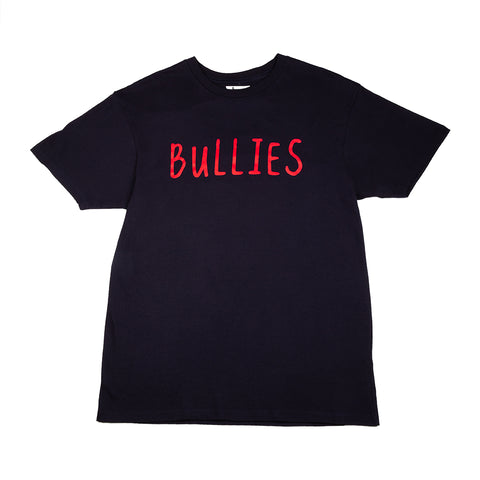 BULLIES S/S TEE (NAVY/WHITE)