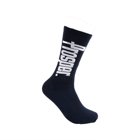 PROSPER CREW 3 SOCKS (NAVY/WHITE)