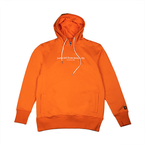 JUST A KID 3 HOODY (ORANGE)