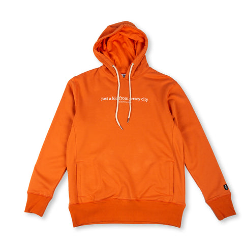 JUST A KID 2 HOODY (ORANGE)