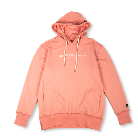 JUST A KID 2 HOODY (PINK)