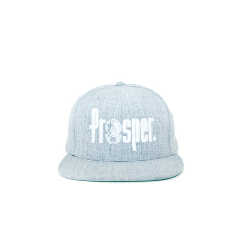 Prosper x Starter 'Logo' Cap (Heather Grey)