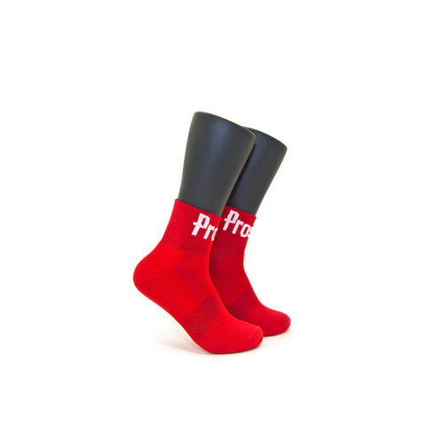 Quarter Sock (Red)