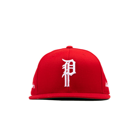 BULLIES SNAPBACK HAT (RED)