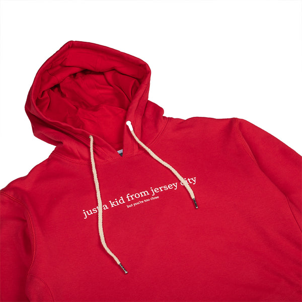 JUST A KID 3 HOODY (RED)