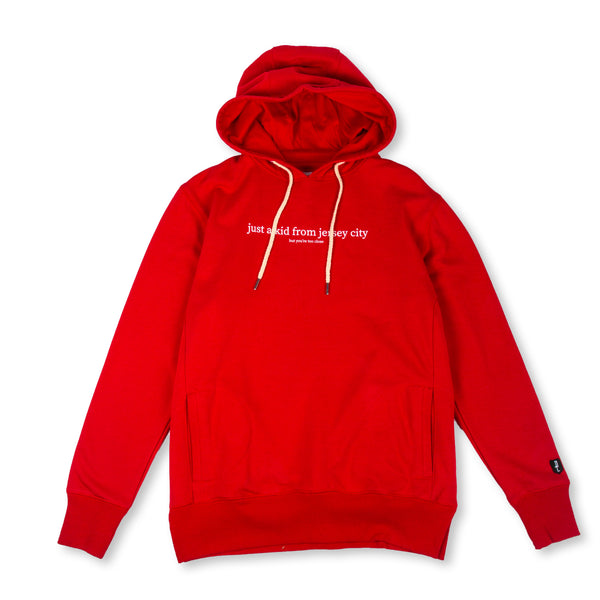 JUST A KID 2 HOODY (RED)
