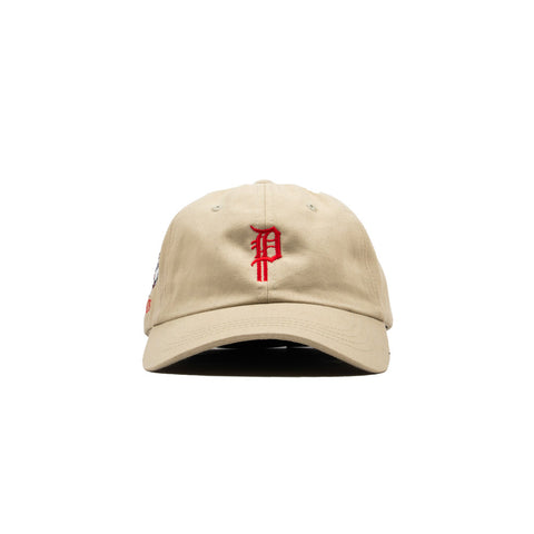 BULLDOG DAD HAT (KHAKI)