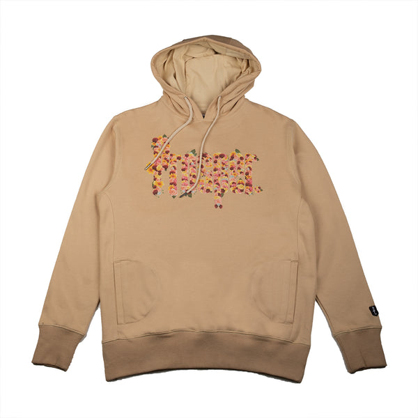 F.P.C. STAFF HOODY (TAN/YELLOW)