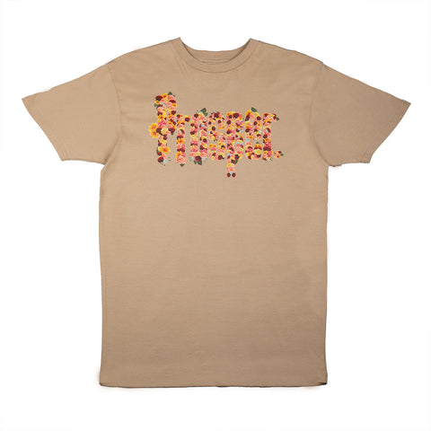 F.P.C. STAFF S/S TEE (SAND/YELLOW)
