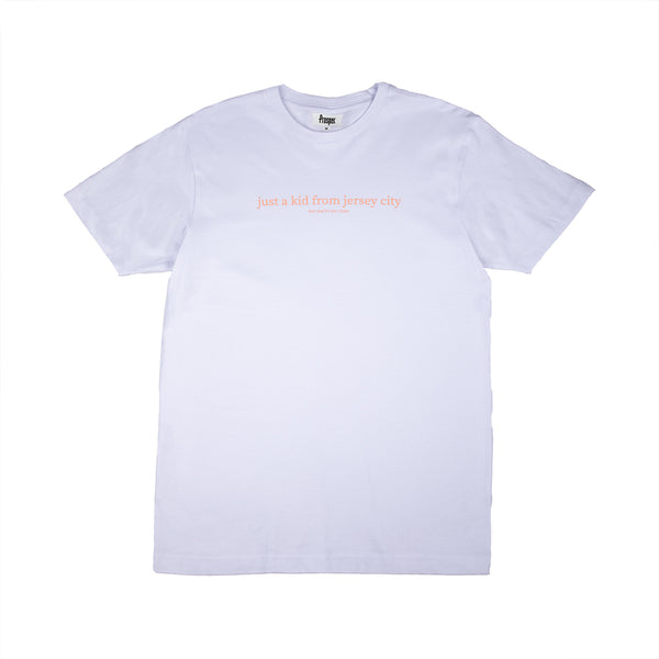 JUST A KID 3 S/S TEE (WHITE)