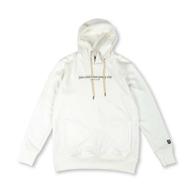 JUST A KID 2 HOODY (WHITE)