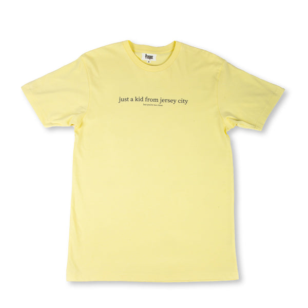 JUST A KID 2 S/S TEE (LIGHT CHARTREUSE)