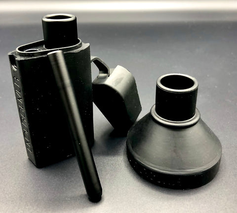 (1pc) ONE.v2-ALL MATTE BLACK ALUMINUM NEW! (odor proof dugout system)
