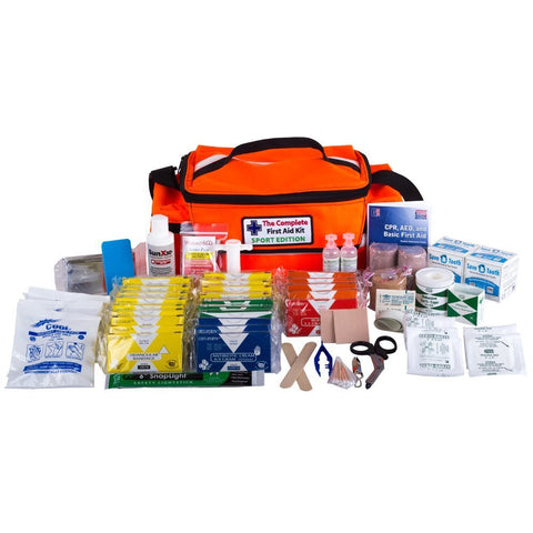 The Complete First Aid Kit (Sport Edition) Includes 2 Save-A-Tooth, Made in USA