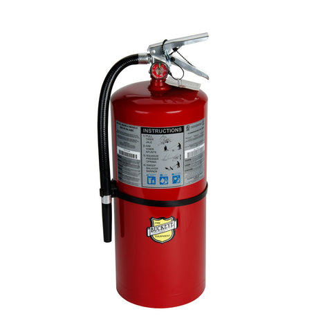 Fire Extinguisher Buckeye 10 lb. ABC- Rechargeable Tagged
