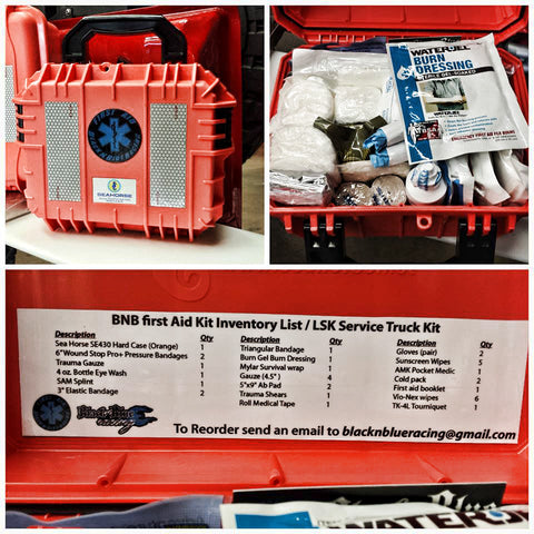 Mid-sized Remote medical  Kit..a kit like nothing you have seen..for moments that are nothing like you have seen.