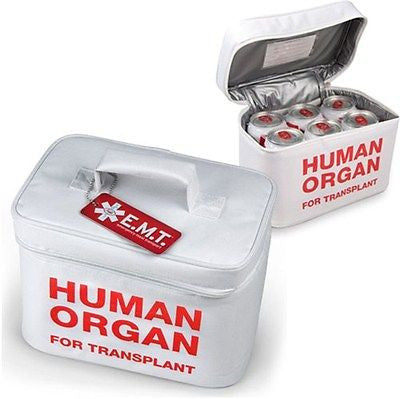 Organ donor transport cooler!