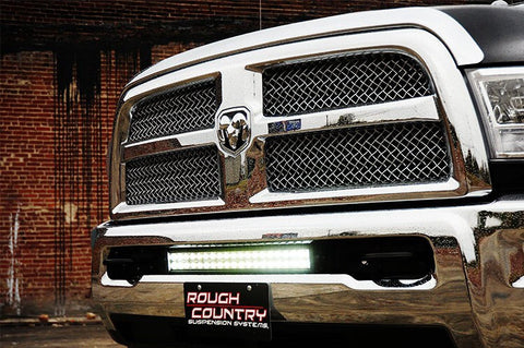 "2010-2015 Dodge Ram HD  20"" double row led light bar, mounts & wiring package"