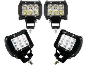 Cree 18 watt led light, 30 degree pattern auxiliary
