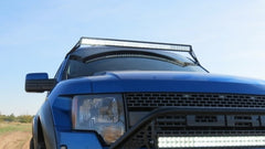 Ford Raptor roof light bar package. Fabricated mounts, led light bar & harness.