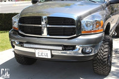 "2003-2015 30"" LED Dodge HD front bumper led light bar package kit"