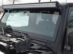 07-15 Jeep JK windshield light bar complete package
