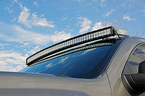 "2007-2013 GM 50"" Curved led light bar, wiring & mount. Complete package !"