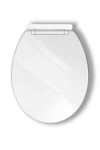 large d shaped toilet seat. Toilet Seat  High Gloss MDF With Bottom Fix Soft Close Hinges D Shaped Plastic Quick Release Top