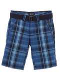 Boys Plaid Shorts