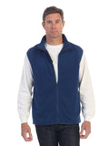 mens polar fleece vest