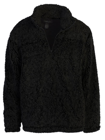 Gioberti Men's Super Soft Sherpa Half Zip Pullover Sweater