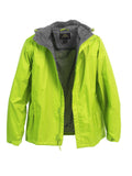 adult waterproof zip hooded jacket