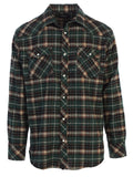 Mens Flannel w/snap