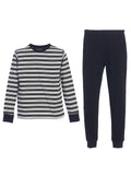 Boys 2 Piece Stripe Pajamas Set