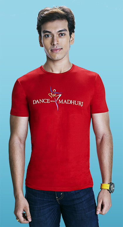 Dance With Madhuri - Guys Red T-Shirt